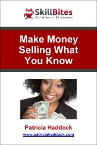 Cover-MakeMoneySellingWhatYouKnow